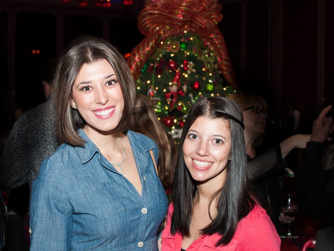 Alexandria Cannito and Analysa White attend the 2015