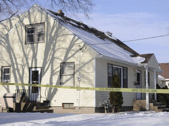 The house where St. Cloud police investigated a suspicious