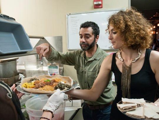 Sami Parbhoo, creator of World Foods To Go, and Hannah