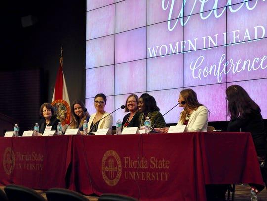 Panelists stressed the importance of confidence and