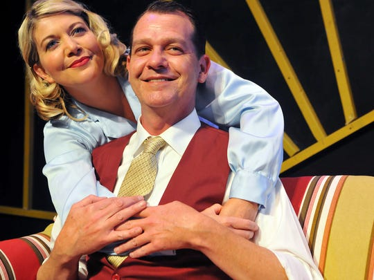 Christine Brandt of Viera as Billie Bendix and Hank Rian of Indialantic as Jimmy Winter in Nice Work if you can get it playing March 4th to the 20th at the Henegar center in Melbourne .