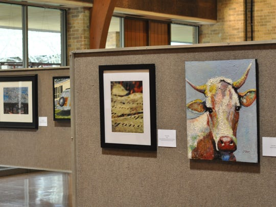 Art has been hung for the 50th annual Tom Peyton Memorial Arts Festival, which opens Friday with a reception at 6 p.m.
