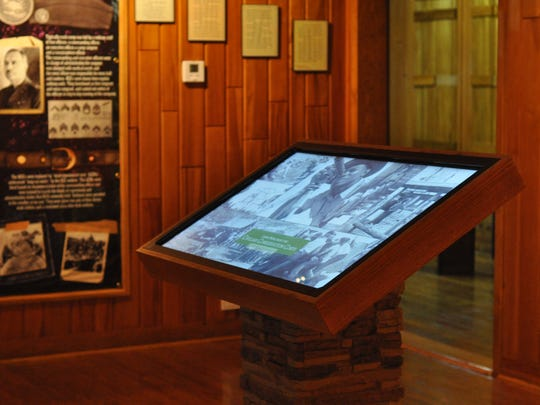 The Civilian Conservation Corps Experience features interactive exhibits that museum staff hope will reach youth.