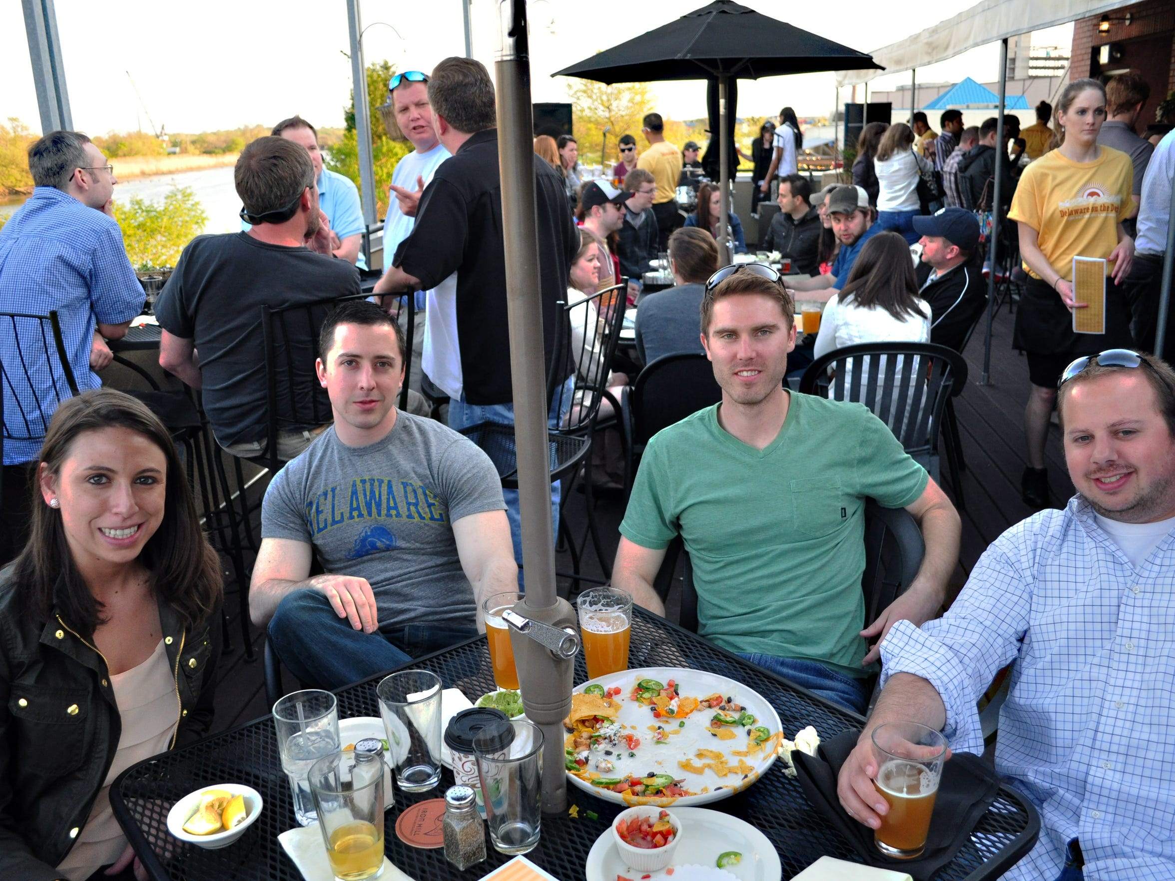 Iron Hill Wilmington will welcome breweries and beer fans from around the state for its Delaware on the Deck beer fest on Saturday.