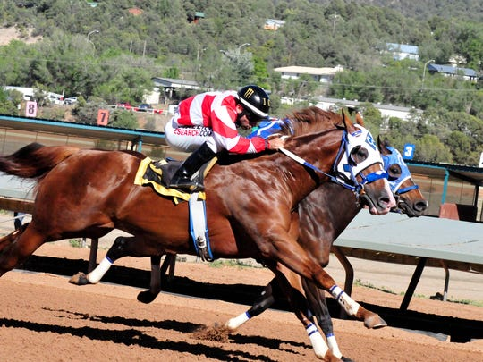 Champion and All American Futurity winner Jess Good Candy remained undefeated from six starts in the trials to the record Grade 1, $1,040,000 Ruidoso Derby on Sunday afternoon at Ruidoso Downs.