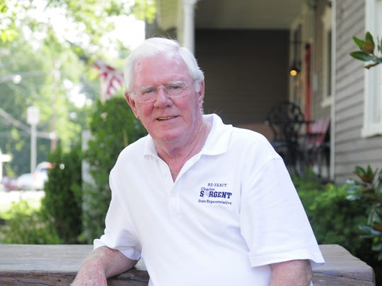 Rep. Charles Sargent is running for re-election this