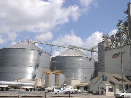 The Mountaire Farms plant in Frankford