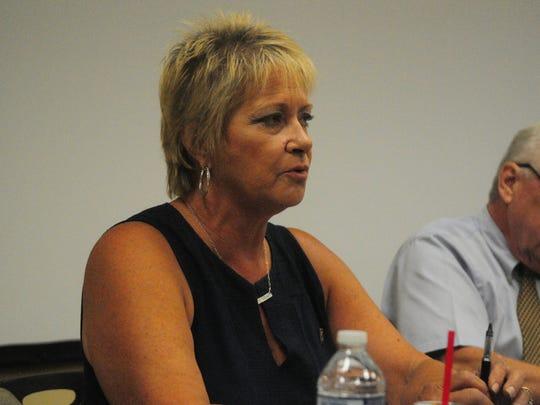 Berlin Mayoral candidate Lisa Hall.