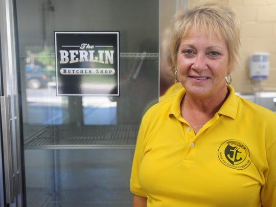 Candidate for Berlin mayor Lisa Hall
