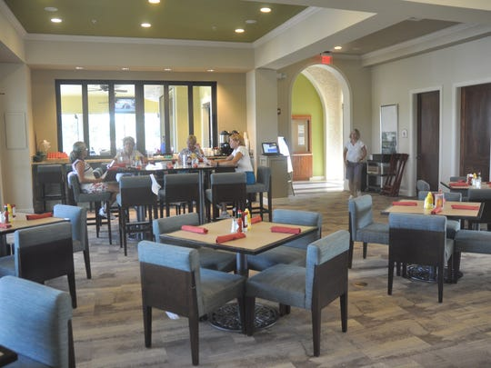 Del Webb in Ave Maria just opened a new restaurant