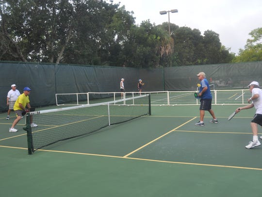 Bonita Bay added pickleball courts in 2010 and now