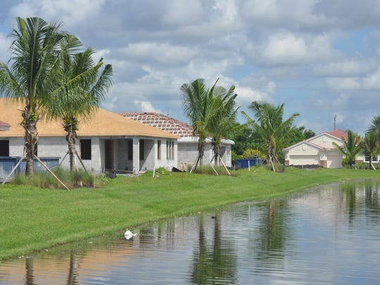 Sunset Pointe in Cape Coral will have 58 single-family homes when complete.