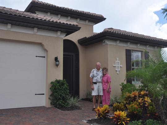 Ken and Camille Bairunas live in the small Westwood community in Fort Myers.