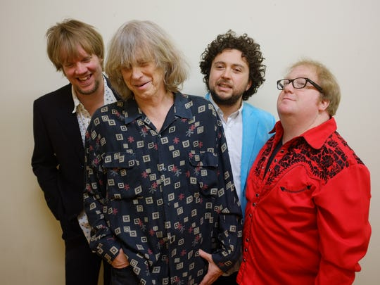Rock vets NRBQ head into the Barre Opera House on Saturday.