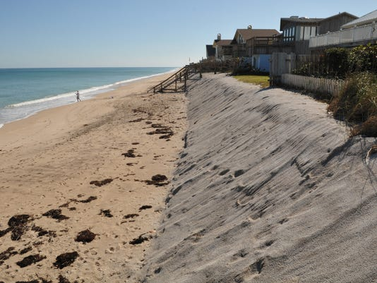 Dune Erosion Beach Renourishment Project