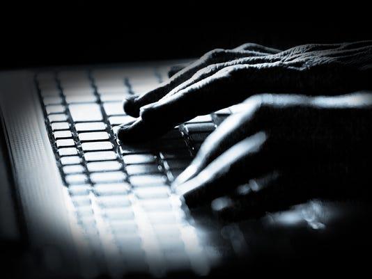 Hacker - computer hacking - data breach
