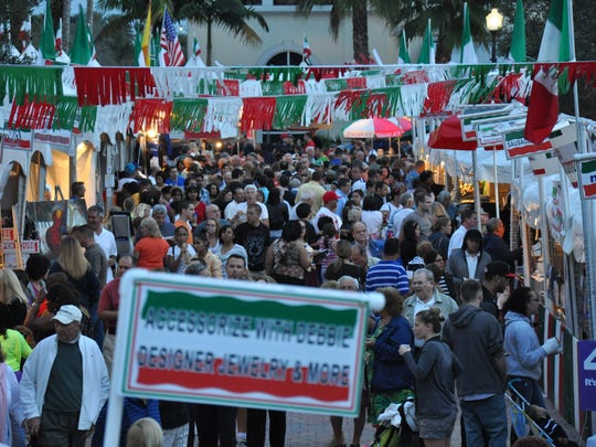 The streets will be filled with food vendors, artisans and thousands of people throughout the weekend for Taste of Little Italy in Port St. Lucie.