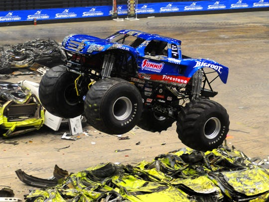 FILE PHOTO: No Limits! Monster Trucks comes to Salisbury on Jan. 26-27 at the Wicomico Youth & Civic Center.