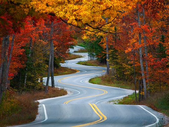 """""""The Long and Winding Road"""" by Nic Paasch."""