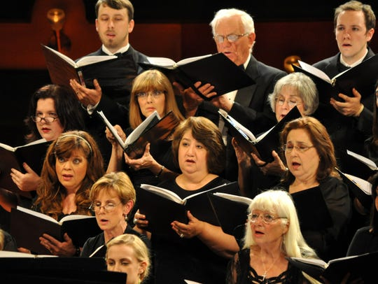 CONTRIBUTED PHOTOMembers of the Corpus Christi Chorale