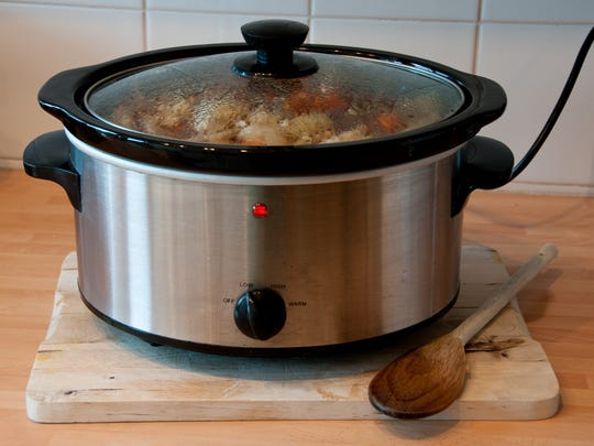 Another idea for busy families: Fix dinner early in the day in a slow cooker and have it waiting.