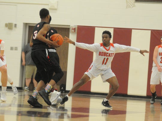 Even Fred Mulbah's tight defense wasn't enough to lift the Bobcats on a night when their super-charged offense went cold. Northeastern tied it late in the third quarter but uncharacteristically cracked down the stretch.