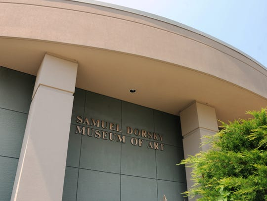 The Samuel Dorsky Museum of Art on campus at SUNY New