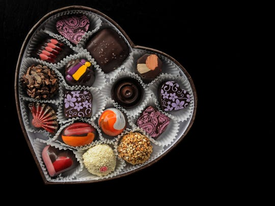 Chocolates from Oliver Kita Chocolate Studio are made from free-trade, organic ingredients.