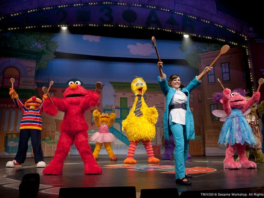 """Sesame Street Live: Elmo Makes Music"" will take the stage Friday through Sunday at Downtown's Abraham Chavez Theatre."