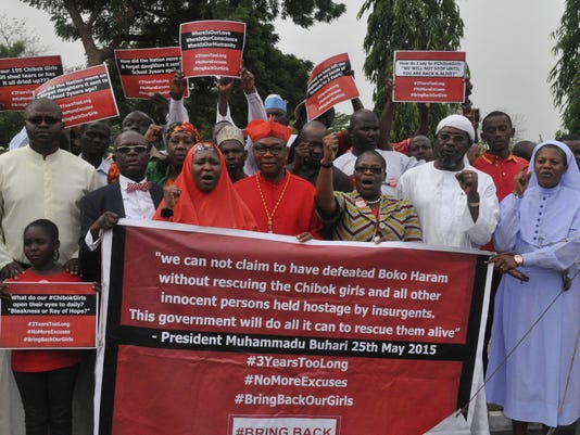 AP NIGERIA KIDNAPPED GIRLS I NGA