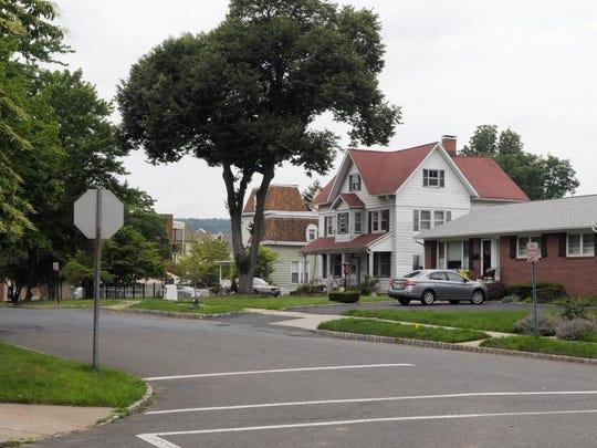 A view of Baldwin Street in Glen Ridge.