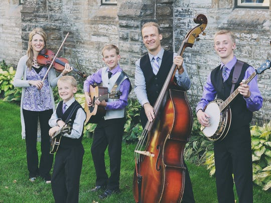 The Benson Family Singers, a family music group from