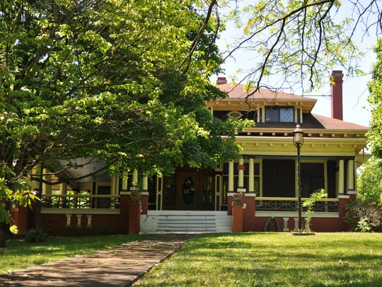 The Paul Howard House at 2921 N. Broadway is again