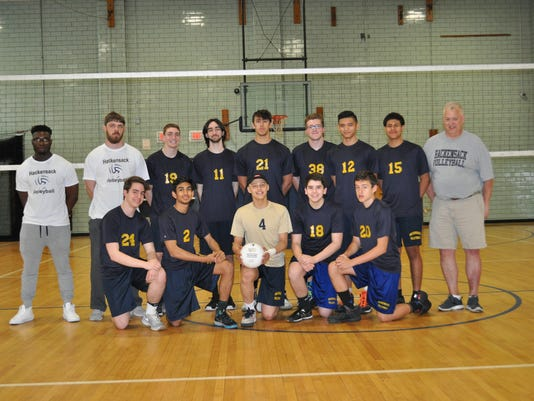 Hackensack boys volleyball