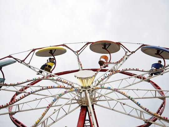 The carnival opens Friday for the Annandale Fourth