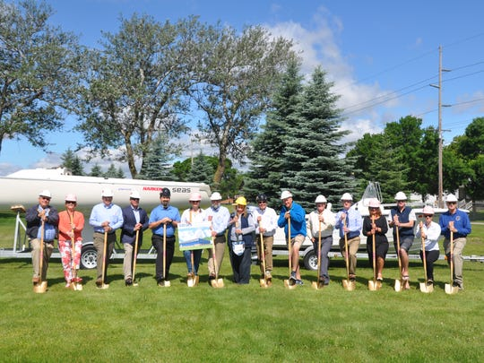The Sailing Education Association of Sheboygan (SEAS) broke ground Monday on a new boat storage and maintenance facility that will also house their headquarters, education rooms, and provide a controlled environment for volunteers and staff to maintain its fleet of power and sailing boats.