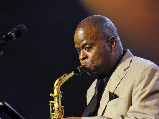 Maceo Parker plays Wiggins Park on Monday as part of