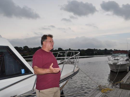 Hackensack Yacht Club member Bill Fuchs reflects on