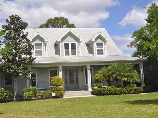 Homes in Horse Creek in Fort Myers have front porches