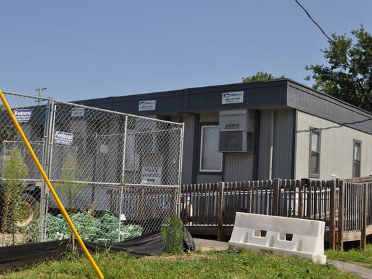 Moonachie police operate out of $5,000-a-month trailers.