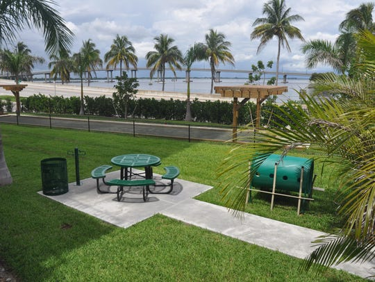 A dog park and bocce courts are a couple of the amenities