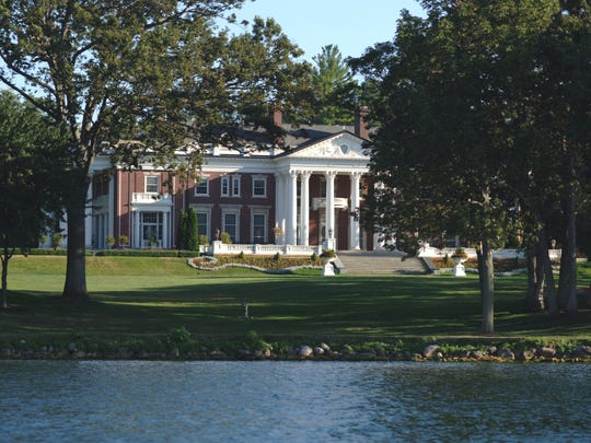 The Harris Mansion on Geneva Lake is known for throwing large birthday parties every summer.