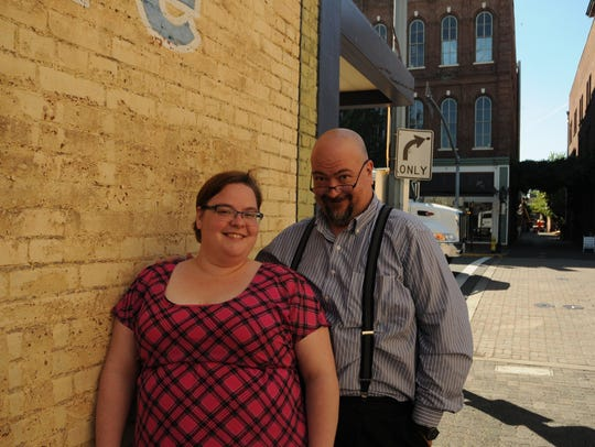 Andrea Bean and Dennis Fisher are excited about Keizer