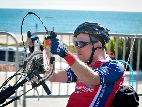 Participants ride a 70-mile stretch from Solvang to
