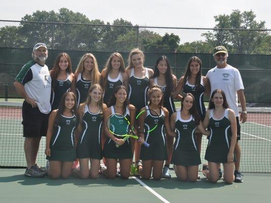 Ramapo girls tennis