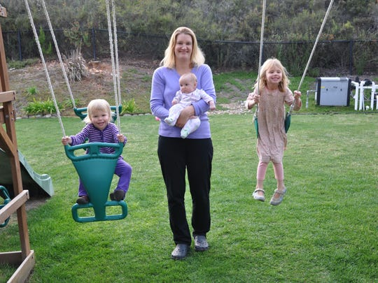 'Generation Me' author Jean Twenge with her daughters,