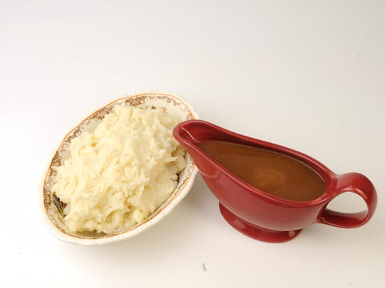 Aim for smooth gravy and fluffy mashed potatoes.