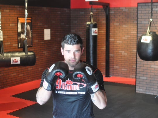 Get a quick workout in at a 9Round kickboxing gym.