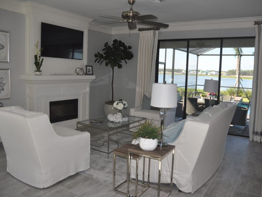 The Trevi by Lennar is one of the models at The Place at Corkscrew.