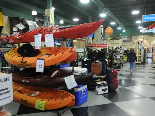 2013 archive photo of the Ramsey Outdoor store on Route 17 in Paramus. The store has since relocated.